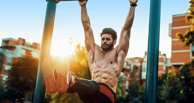 Pull up bar exercises