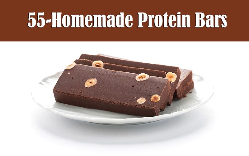 Homemade proteins bars recipes