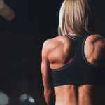 Muscular Woman Back Muscles