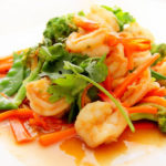 Prawn Asian Food