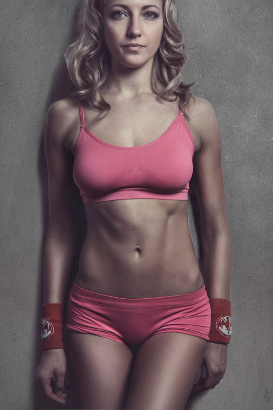 Fit Athletic Woman Wearing Sportswear