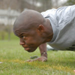 Military Man Doing Push Ups