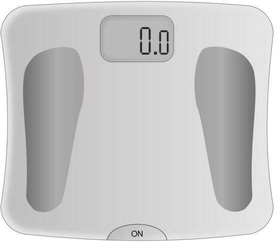Vector Illustration of Weight Scale