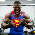 Male Bodybuilder Training In The Gym