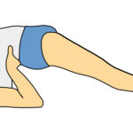 Vector Illustration of Man Doing Yoga Pose