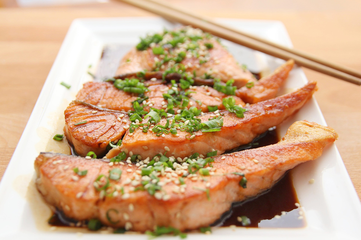 Delicious Salmon With Pepper