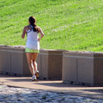 Female Jogger Running In The Park