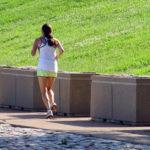 Female Jogger Running In The Park