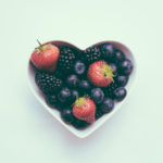 Berries in A Bowl, Healthy Eating Concept