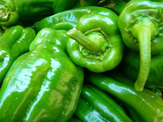 Close-Up Paprika Green Vegetables