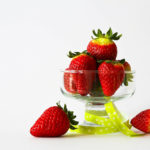 Fresh Strawberry Fruits In A Glass