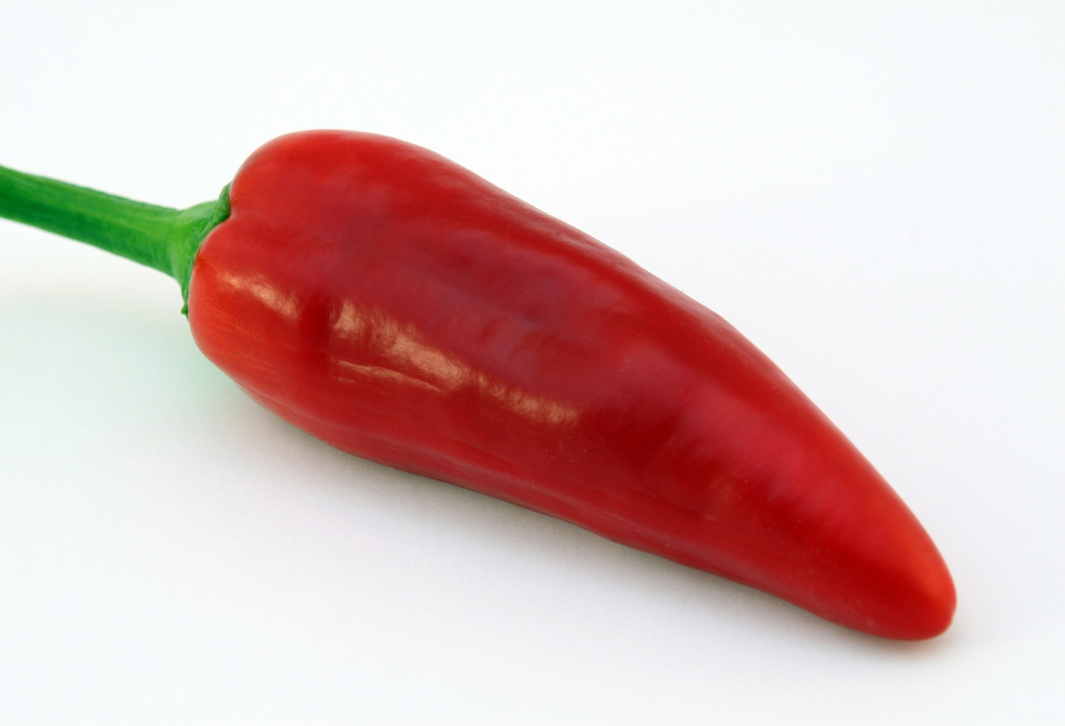 Cayenne Pepper Isolated on White Background