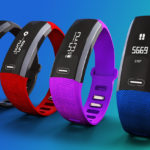 Four Fitness Tracker and Heart Monitoring Devices