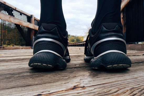 Runner Walking Outdoors to Warm Up