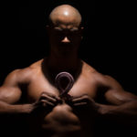 Fit Muscular Man Fighting Cancer