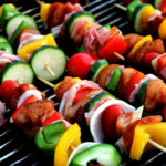 Yummy Shish Kebab Meat Skewer