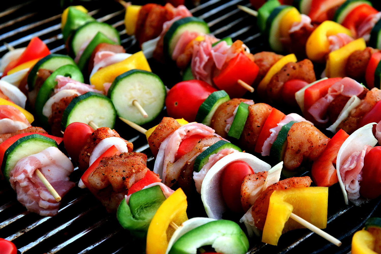 Yummy Shish Kebab Meat Skewer