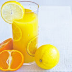Glass of Lemon and Orange Juice