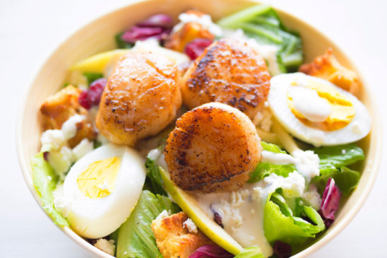 Eggs and Vegetables Salad In A Bowl