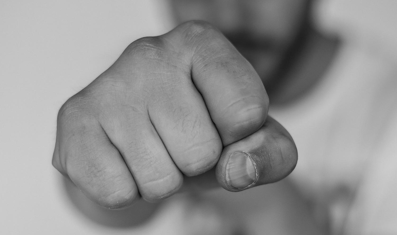 Athletic Man Fist