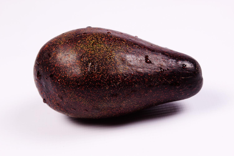 Avocado on isolated white background