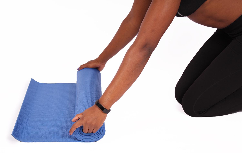 Yogi folding yoga mat
