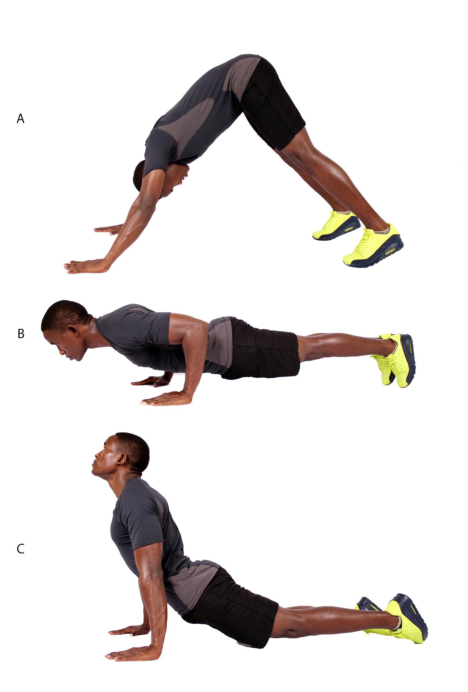how to do divebomber push ups