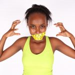 Dieting Concept. Dieting Woman Frustrated With Restrictive Diets