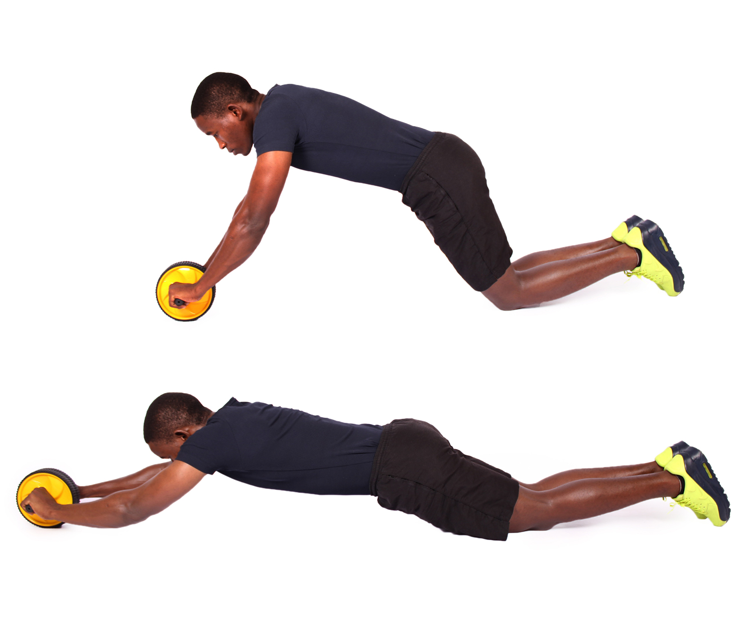 How to do ab wheel roller exercise