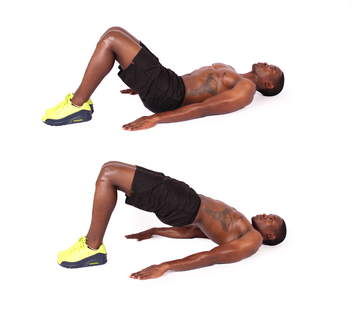 How to do glute bridges exercise