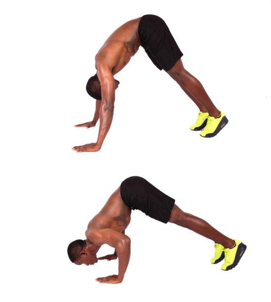 How to do pike push ups