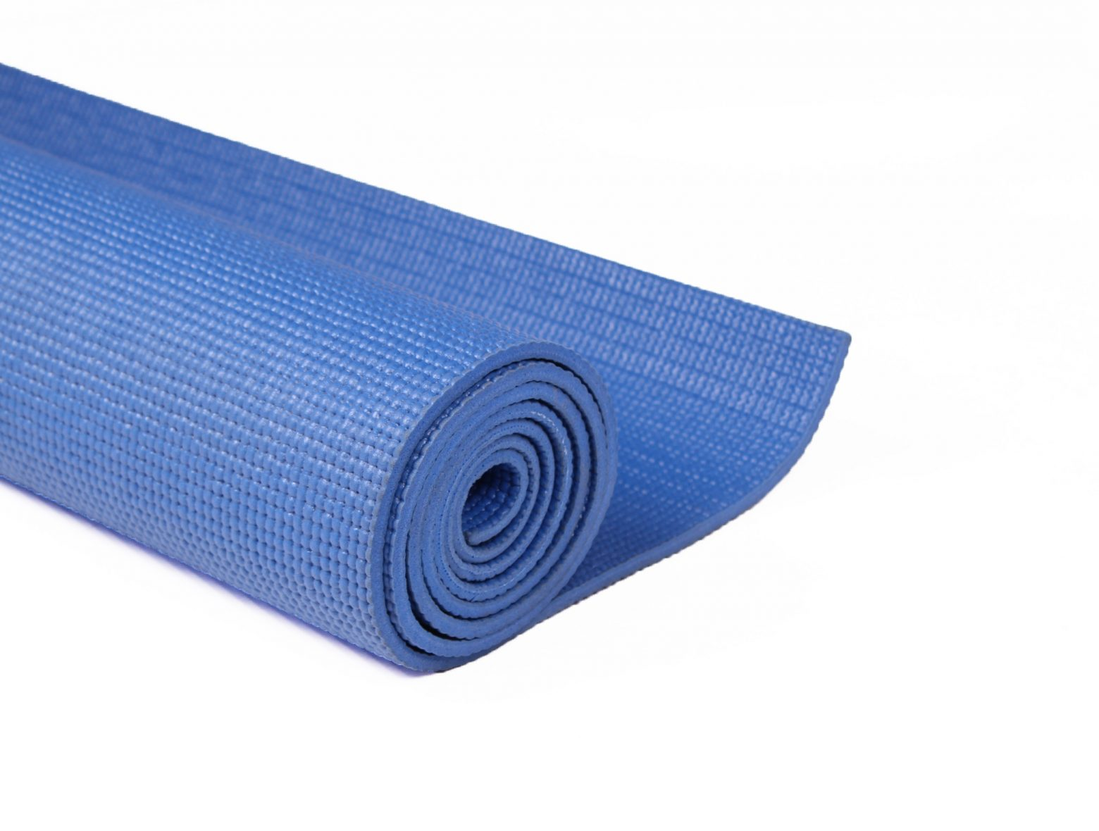 Close Up Rolled Yoga Mat
