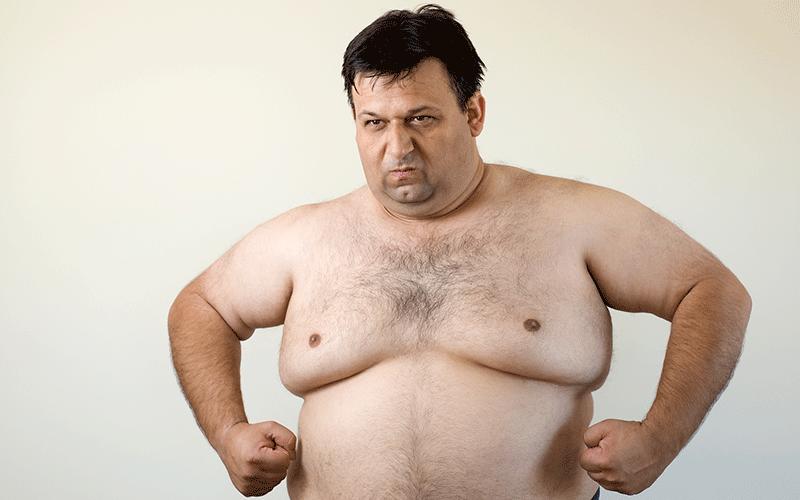 get rid of man boobs
