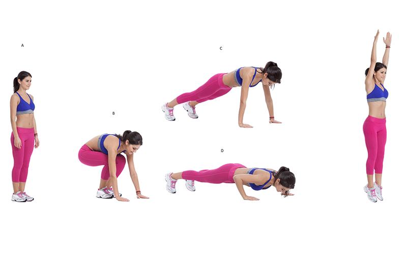 Full body bodyweight exercises