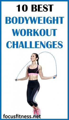 10 Easy Bodyweight Workout Challenges That Work - Focus Fitness