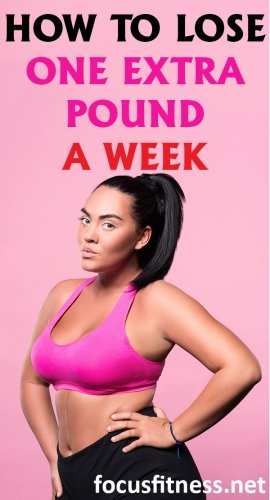 how to lose one extra pound a week