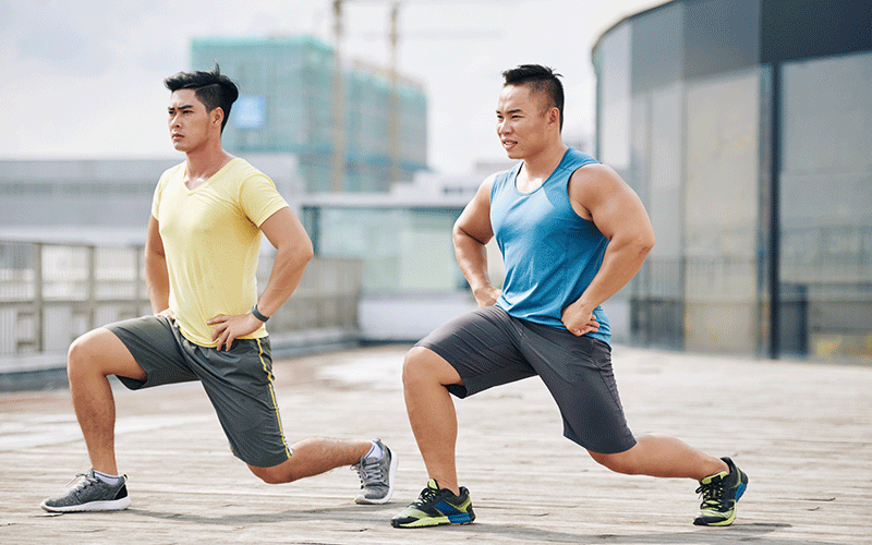 lunges challenges