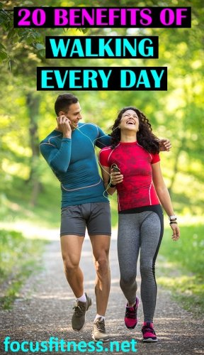 20 benefits of walking every day