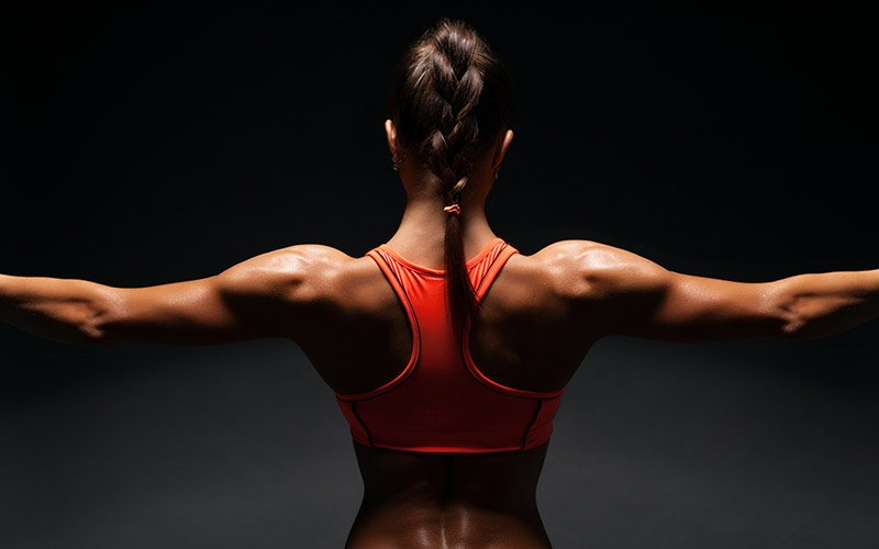 back and bicep workout for women