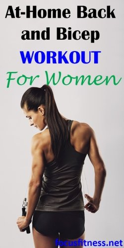 best at-home back and bicep workout for women