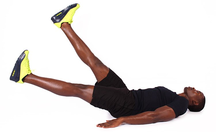 flutter kicks non weight bearing cardio exercise