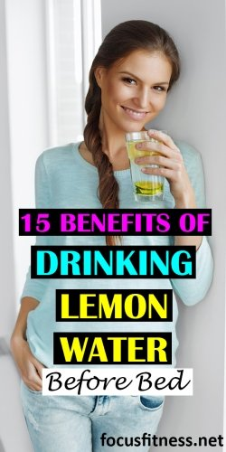 15 benefits of drinking lemon water before bed