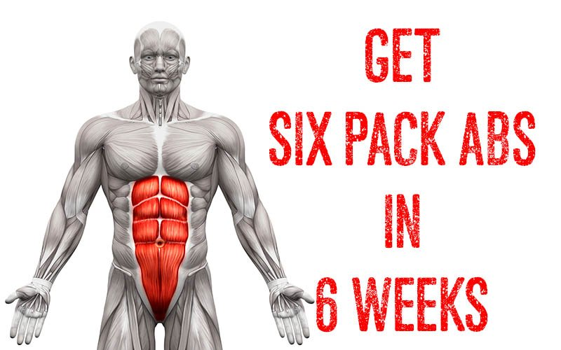 how to get a six pack abs in 6 weeks