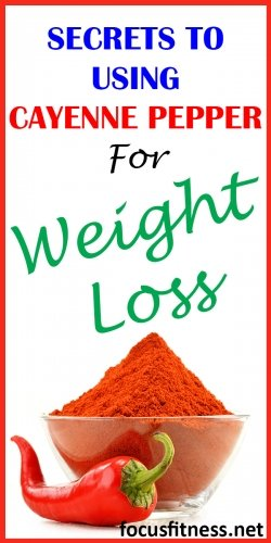 Secrets to using cayenne pepper for weight loss