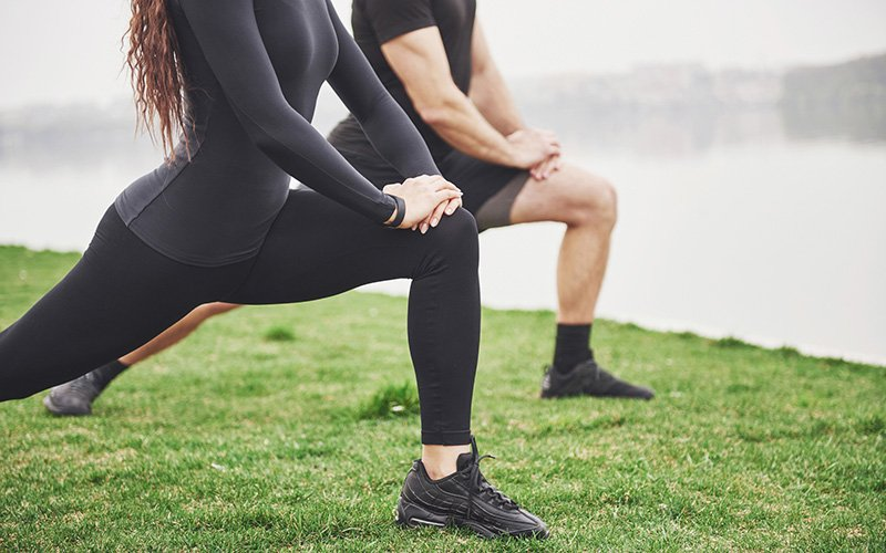 The leg and core workout for beginners