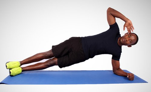 How to do side plank