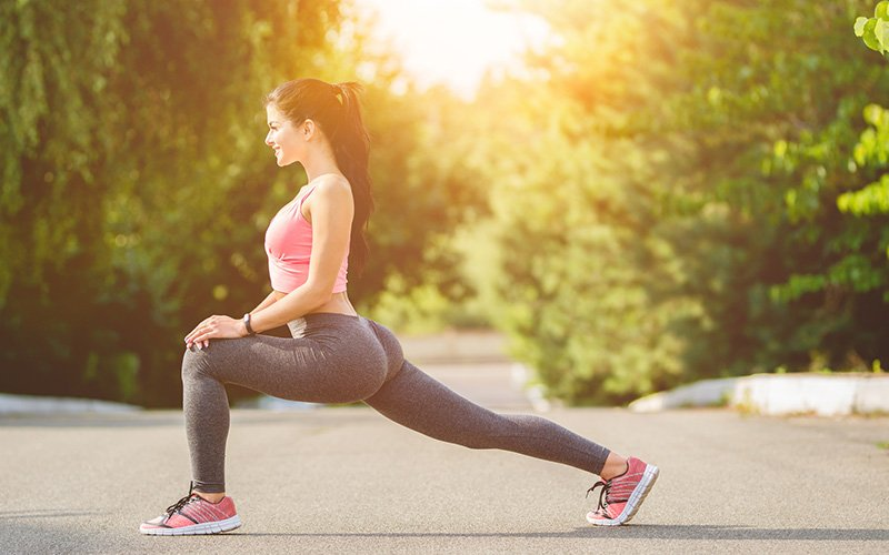 Intense leg workout to give you the burn