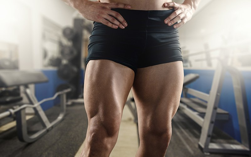 Thigh building workout you can do at home