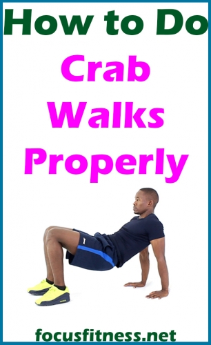 In this article, you will learn how to perform crab walks, a compound movement that mainly targets your shoulders and triceps  #crab #walks #focusfitness