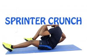 How to Do Sprinter Crunch